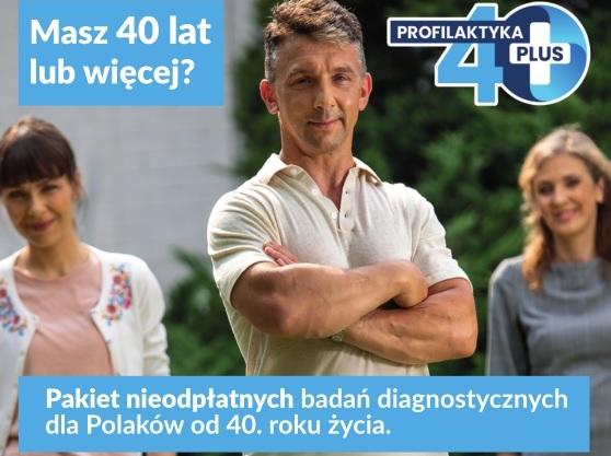 Profilaktyka 40 PLUS